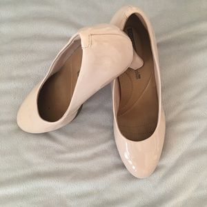 Clark's Collection Nude Pumps